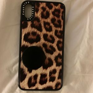 Leopard casetify iPhone XSMax case